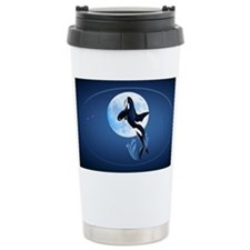 Wall Peels Leaping Orca and Moo Travel Mug