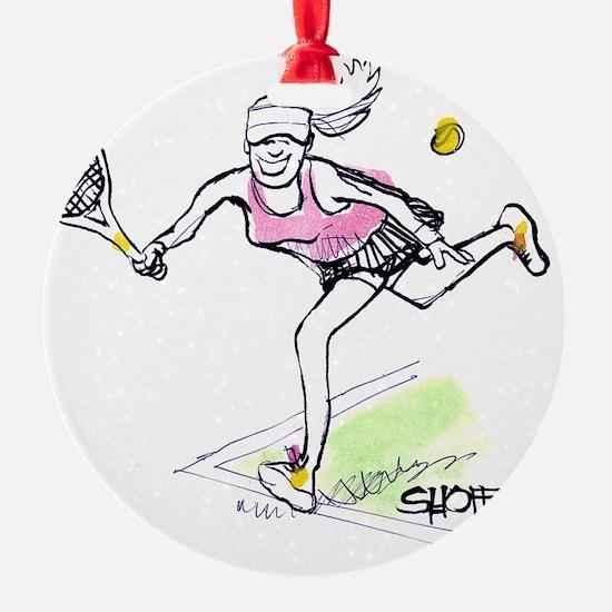 TennisG Ornament