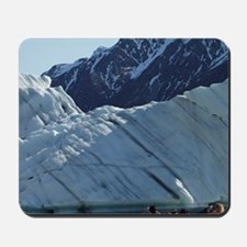 Icebergs and tourists on Glacier Explore Mousepad