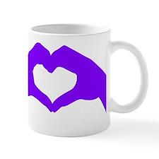 lovesignnoword-pur Mug