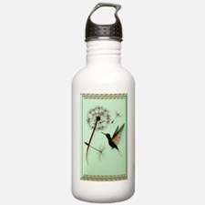 Dandelion and Hummingb Water Bottle