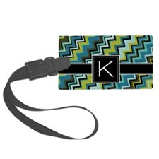 K_zig_inital_03 Luggage Tag
