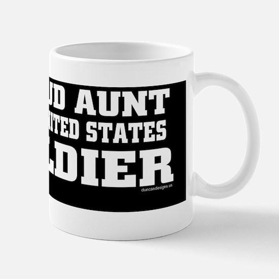ProudauntofaU.S.Soldier Mug