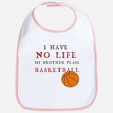 No Life....Basketball Bib