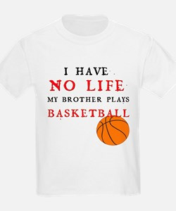 No Life....Basketball Kids T-Shirt