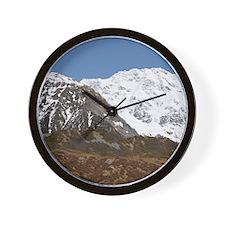 Aoraki / Mt Cook National Park Wall Clock
