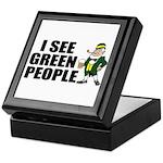 I See Green People Saint Pat's Keepsake Box