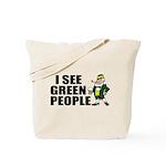 I See Green People Saint Pat's Tote Bag
