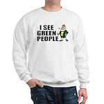 I See Green People Saint Pat's Sweatshirt