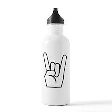 Rock Fingers White FBC Water Bottle