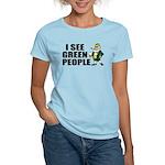 I See Green People Saint Pat's Women's Light T-Shi