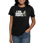 I See Green People Saint Pat's Women's Dark T-Shir