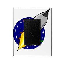 Space Rocket Blue FBC Picture Frame