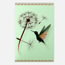 KEY CHAIN-Dandelion and H Postcards (Package of 8)