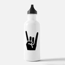 Rock Fingers Black FBC Sports Water Bottle