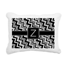Z_zig_inital_02 Rectangular Canvas Pillow