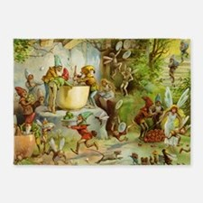 book of gnomes007 5'x7'Area Rug
