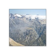 "Arthurs Pass National Park. Square Sticker 3"" x 3"""