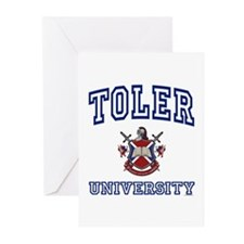 TOLER University Greeting Cards (Pk of 10)