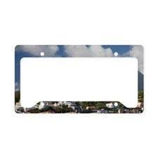 MARTINIQUE. French Antilles.  License Plate Holder