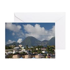 MARTINIQUE. French Antilles. West In Greeting Card