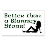 Better than a Blarney Stone Rectangle Sticker