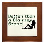 Better than a Blarney Stone Framed Tile