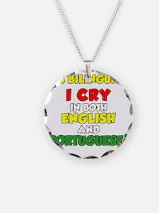 Bilingual English and Portug Necklace