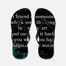 friendpillow Flip Flops