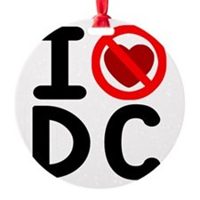 I noheart5DC Ornament