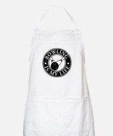 Bowling Is My Life BBQ Apron