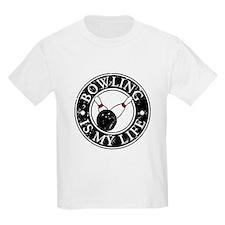 Bowling Is My Life Kids T-Shirt
