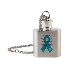 WARNING CDH Survivor Flask Necklace