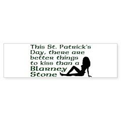 St. Patrick's Blarney Stone Bumper Bumper Sticker