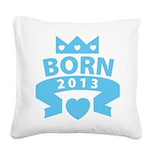 born6 Square Canvas Pillow
