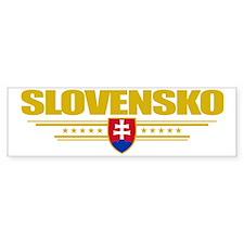 Slovakia (Flag 10) pocket Car Sticker