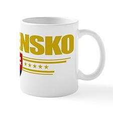 Slovakia (Flag 10) pocket Mug
