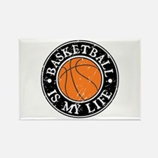 Basketball Is My Life Rectangle Magnet