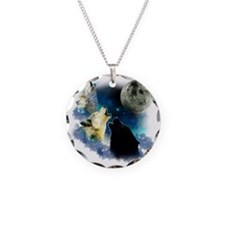 New Wolfs moon 2 Fractal Necklace