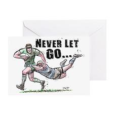 RugbyNeverCov Greeting Card