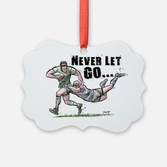RugbyNeverCov Ornament