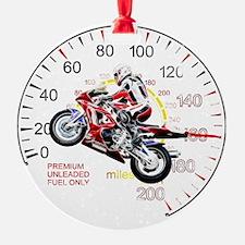 Fractal Speed 2 Ornament