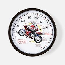 Fractal Speed 2 Wall Clock