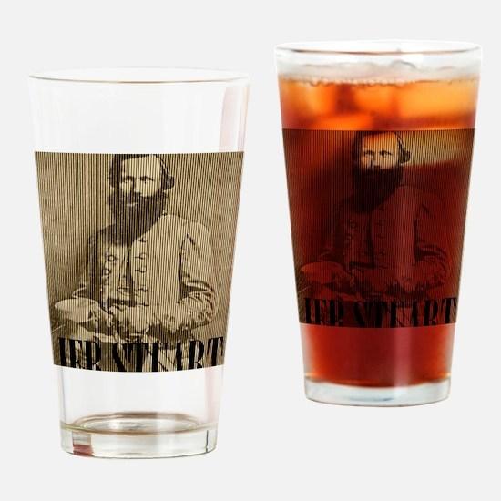 General Jeb Stuart Drinking Glass