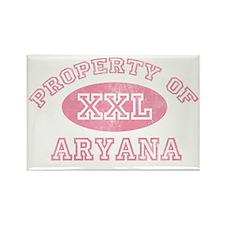 Property-of-Aryana Rectangle Magnet