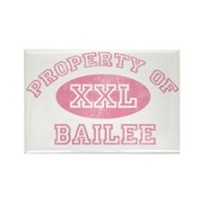 Property-of-Bailee Rectangle Magnet