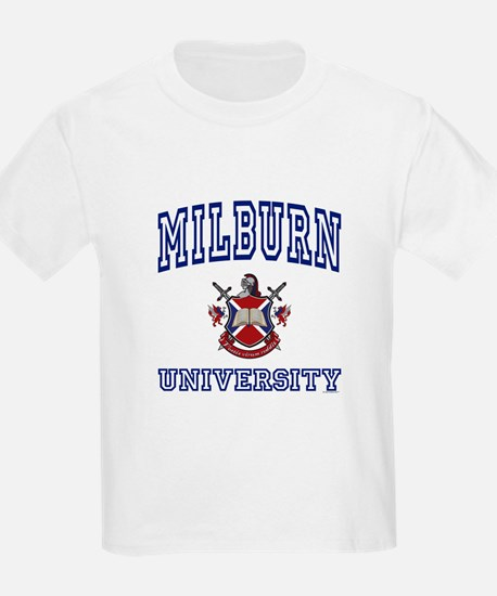 MILBURN University Kids T-Shirt