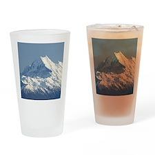 Aoraki Mount Cook and Lake Pukaki,  Drinking Glass