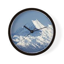 Aoraki Mount Cook and Lake Pukaki, Mack Wall Clock