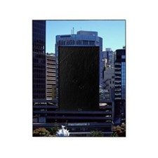 Wellington Waterfront - aerial Welli Picture Frame